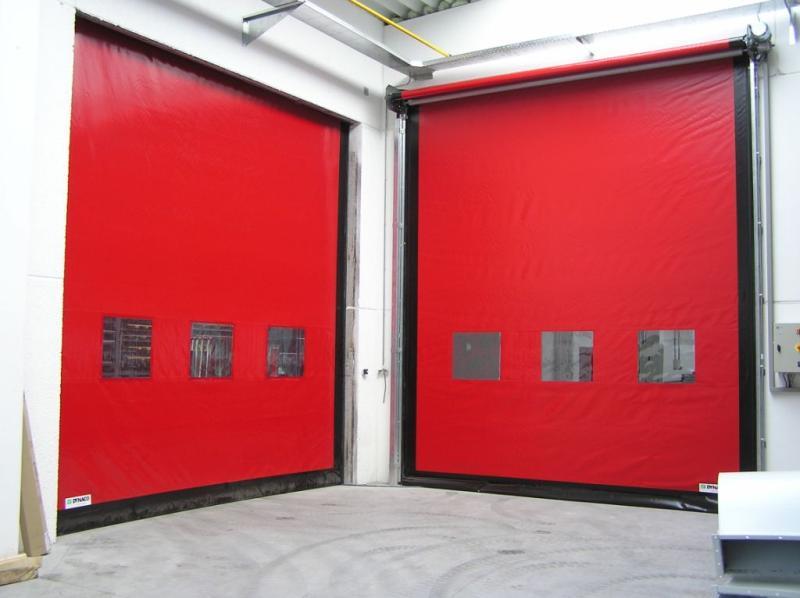 скоростные ворота dynaco термическое сопротивление